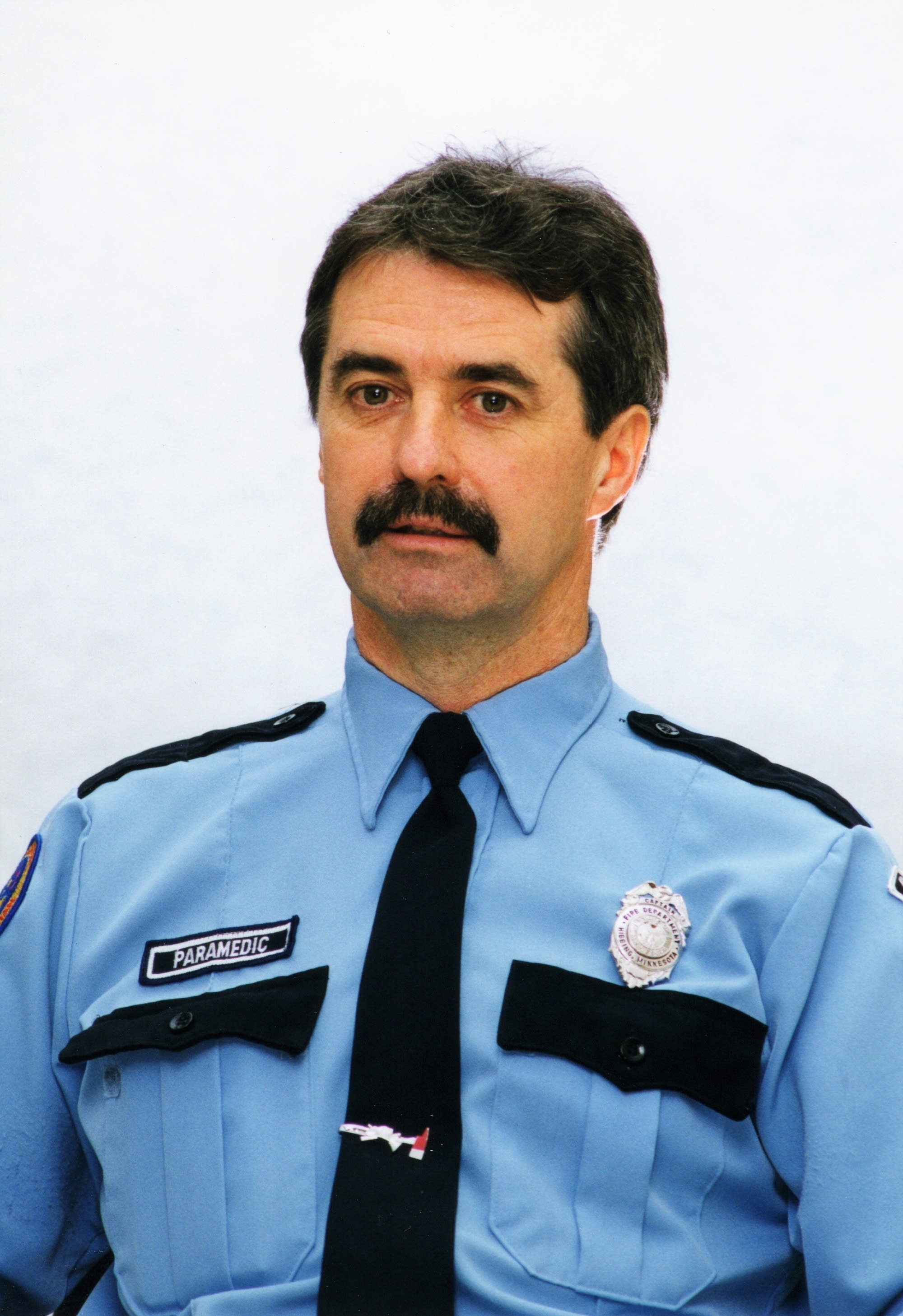 Retired Hibbing fire captain Steven J. Gillitzer