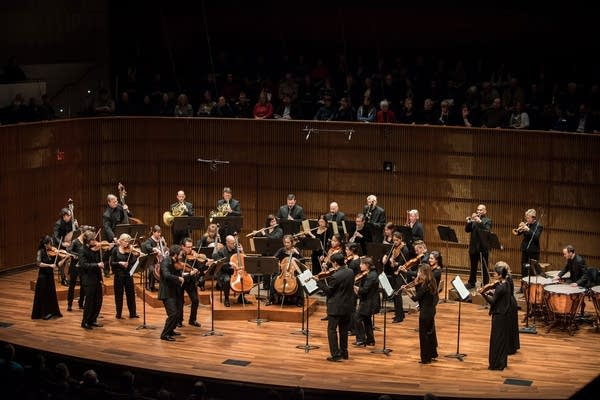 The St. Paul Chamber Orchestra performing in March 2015.