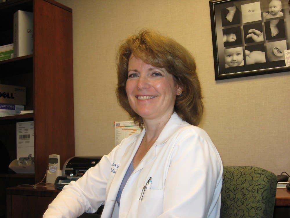 Solo practitioner Dr. Jennifer Gobel