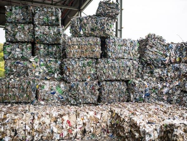 Cubes of trash