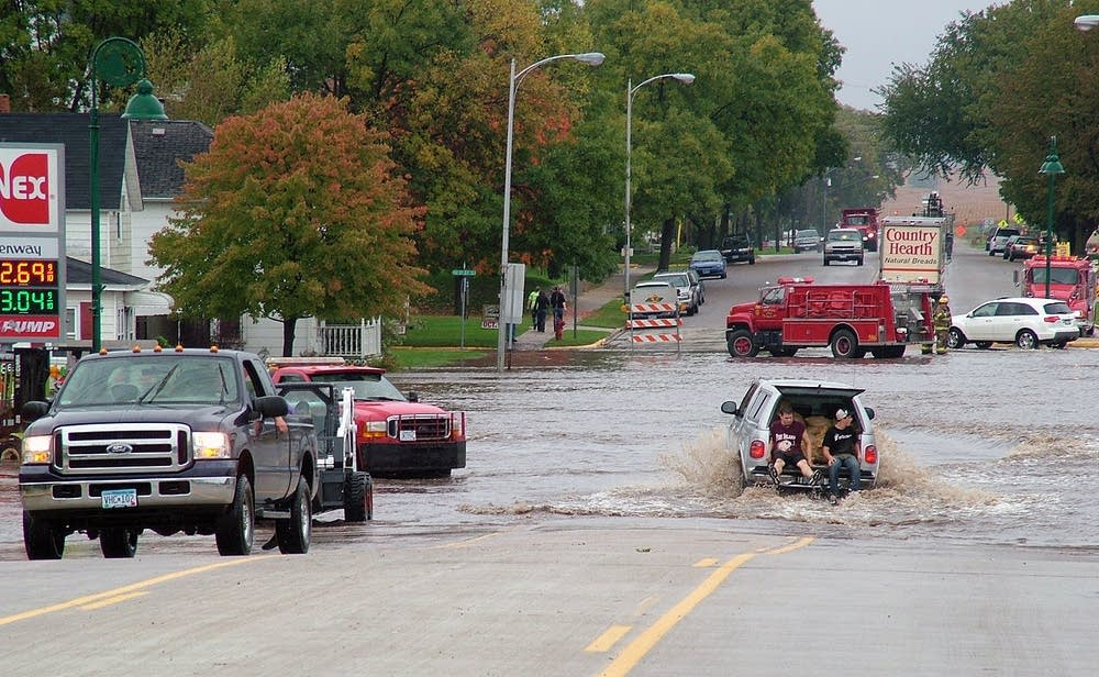 Pine Island flooding