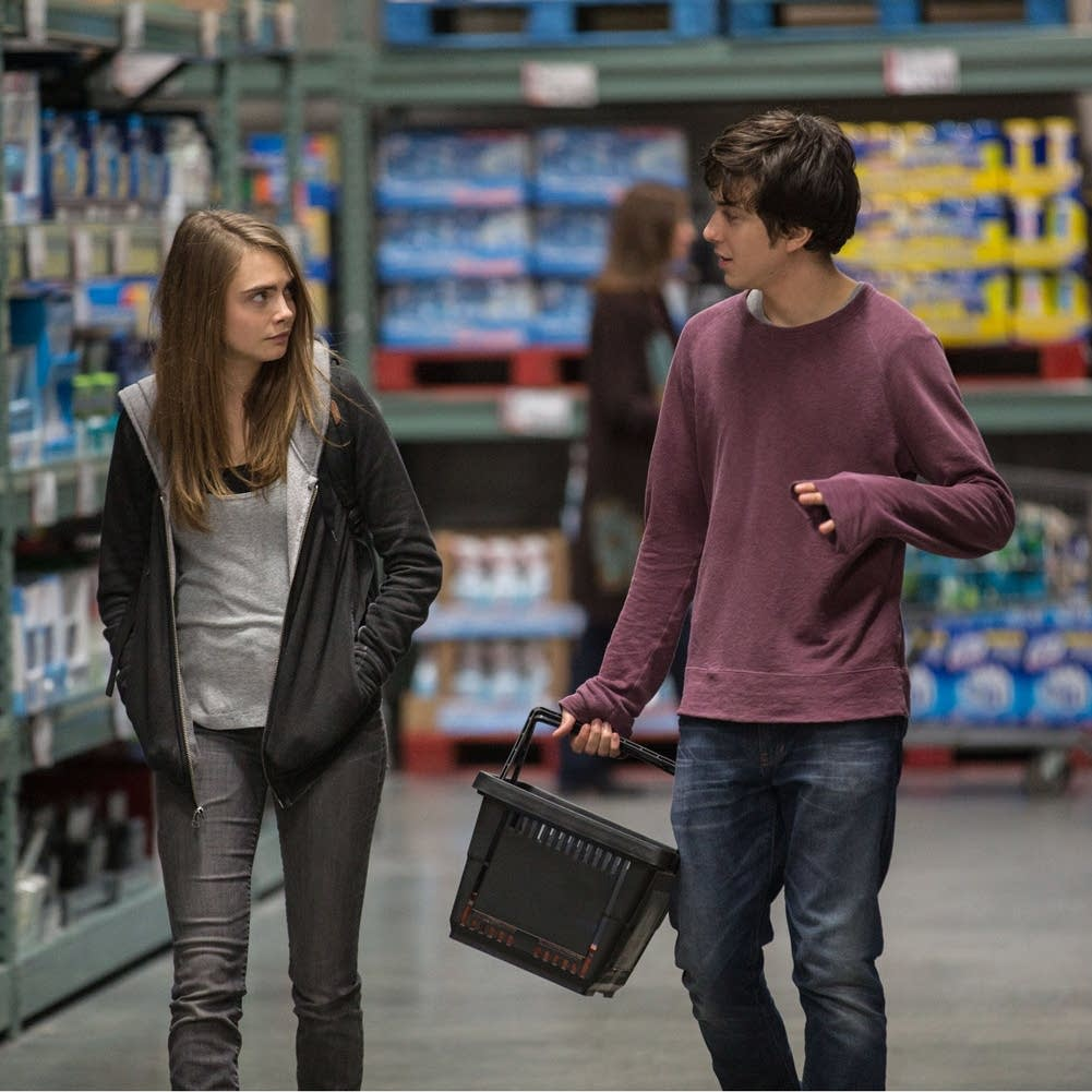 Paper Towns, Cara Delevingne, Nat Wolff