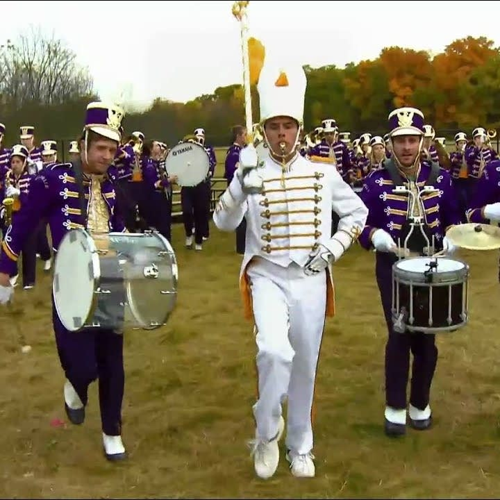 OK Go with marching band