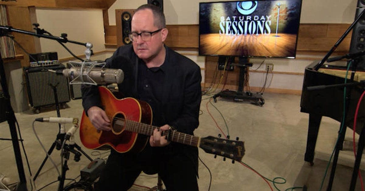Craig Finn performs on CBS This Morning Saturday Sessions