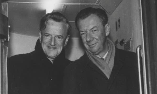 Benjamin Britten and Peter Pears in the 1960s