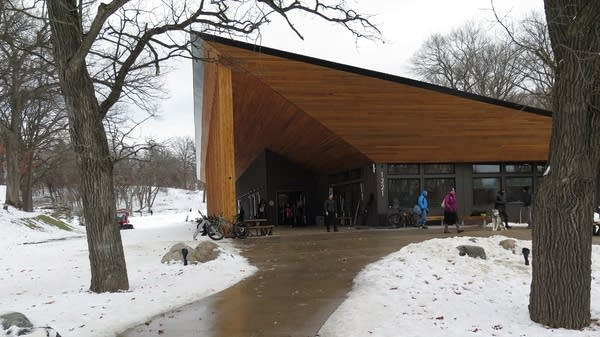 The Trailhead facility at Theodore Wirth Park