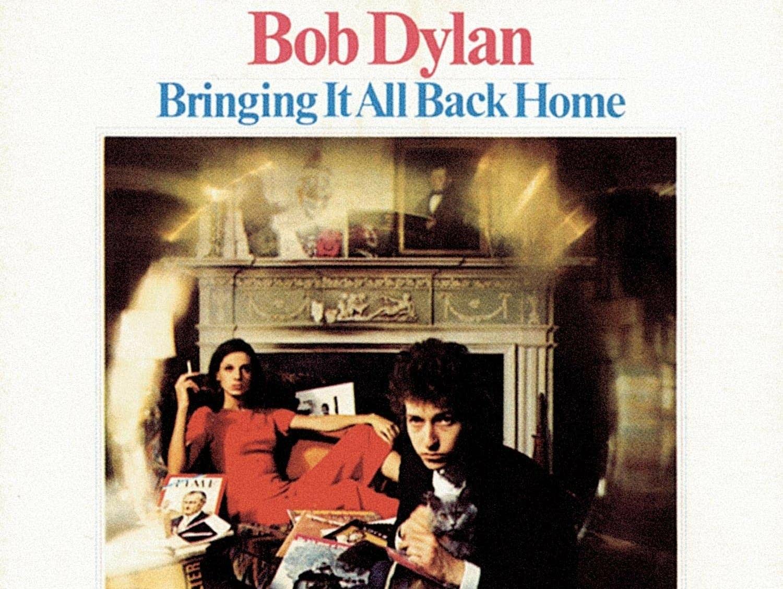Bob Dylan 'Bringing It All Back Home' album cover