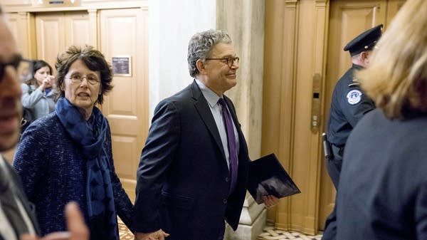 Sen. Al Franken announces his resignation