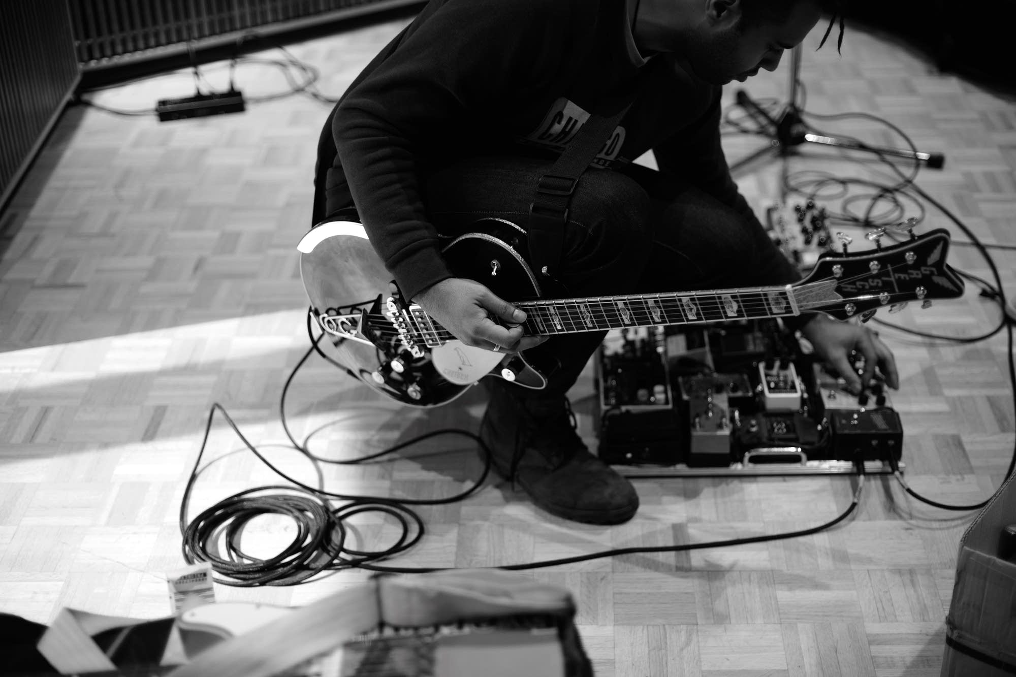 Gang of Youths perform in The Current studio