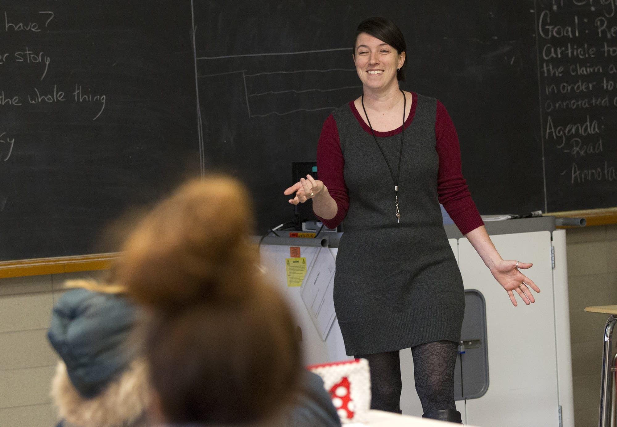 Teacher Allison Hartzell also attended Como.