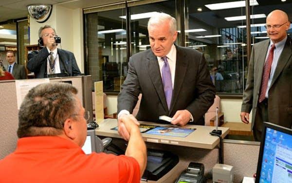 Dayton buys fishing license
