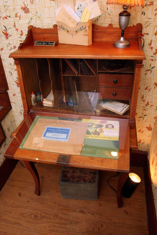 Laura Ingalls Wilder's writing desk