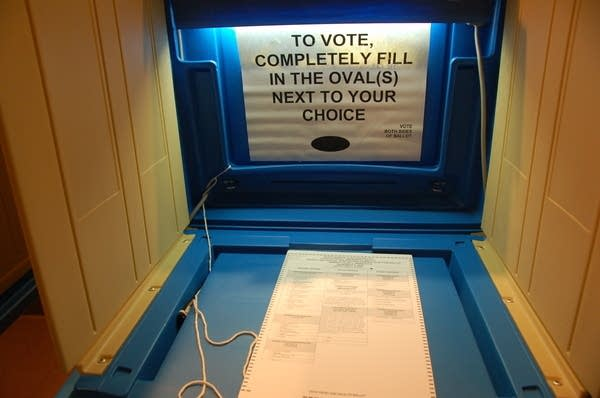 Uncompleted ballot