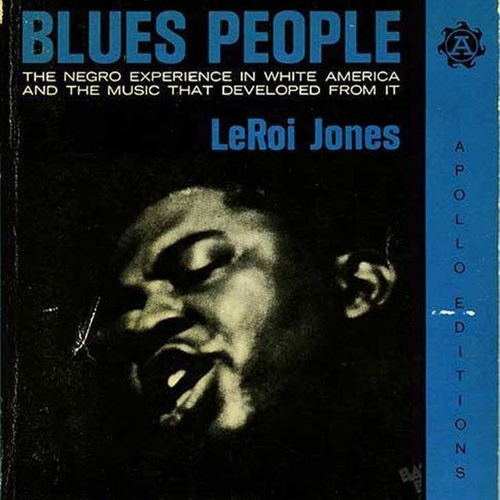 'Blues People' by LeRoi Jones (Amiri Baraka). - webcrop