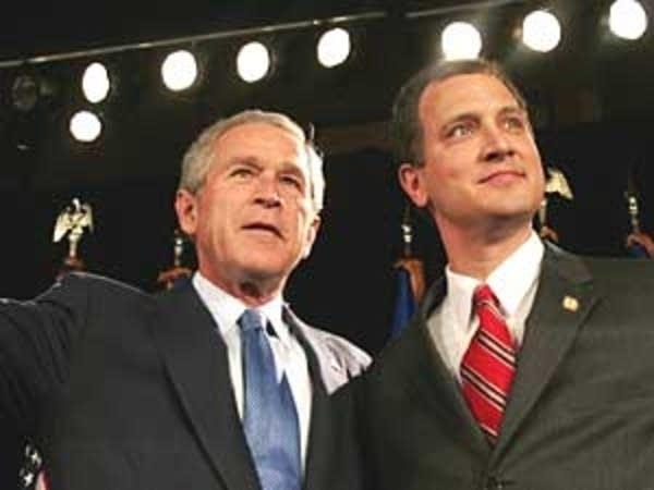 Bush and Kennedy