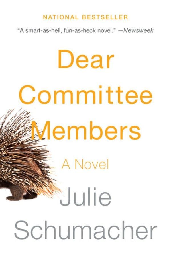 'Dear Committee Members' by Julie Schumacher