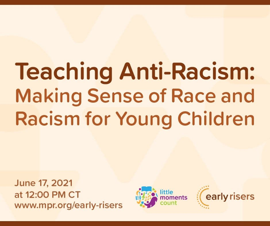 Early Risers Teaching Anti-Racism Event