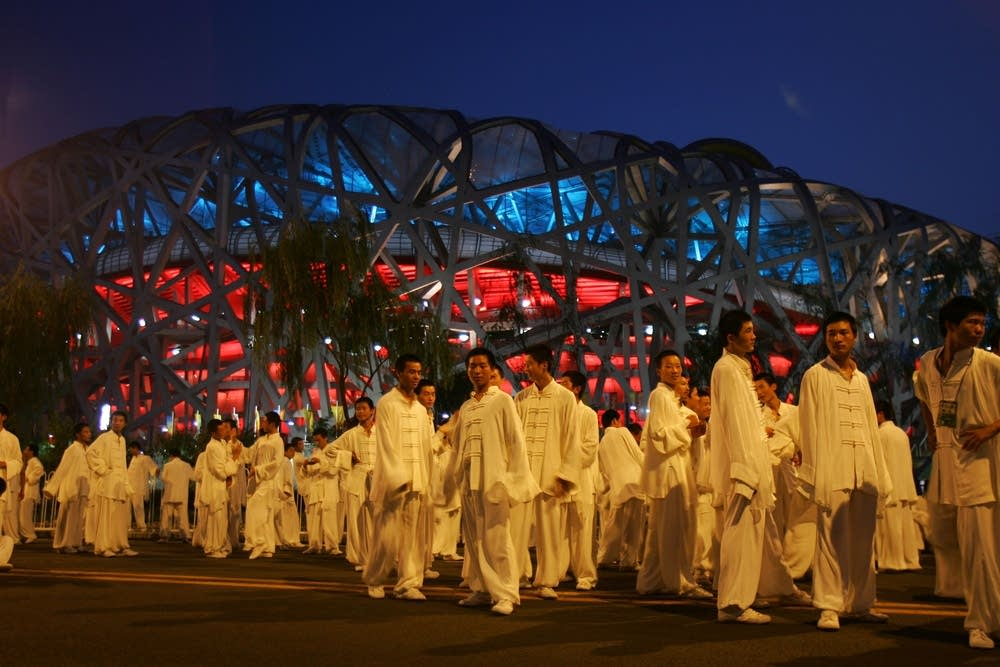Olympic dress rehearsal