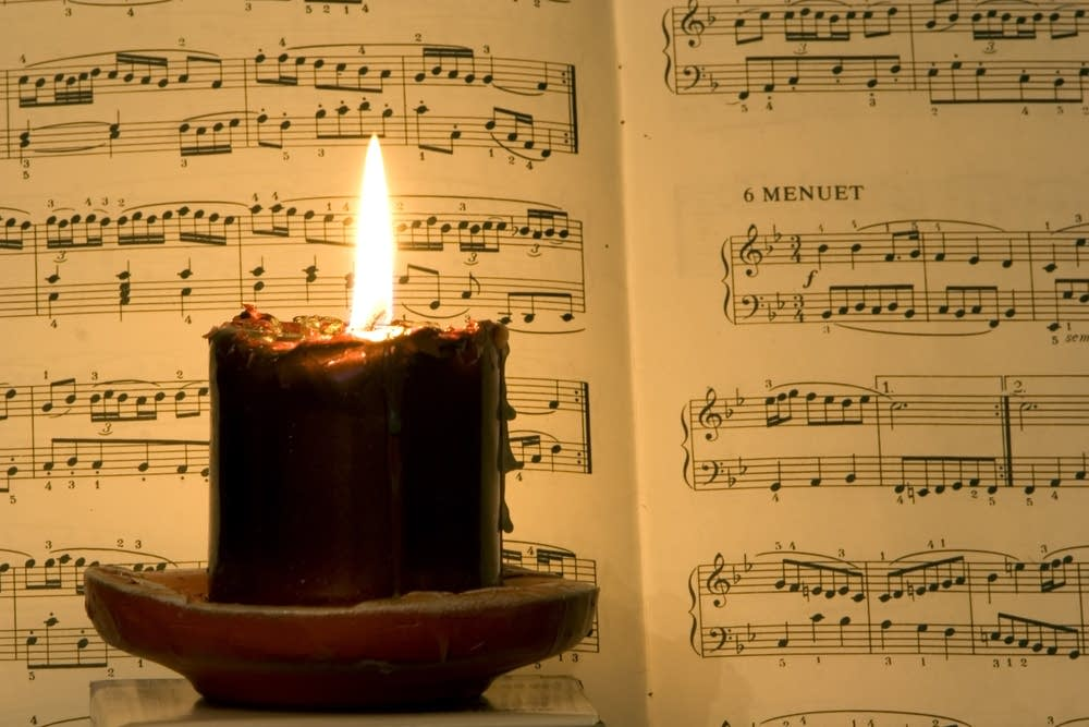 Music and Candle