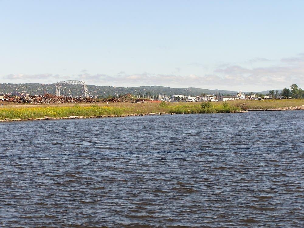 Duluth cargo dock