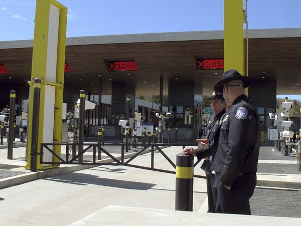 U.S. Customs and Border Protection officials