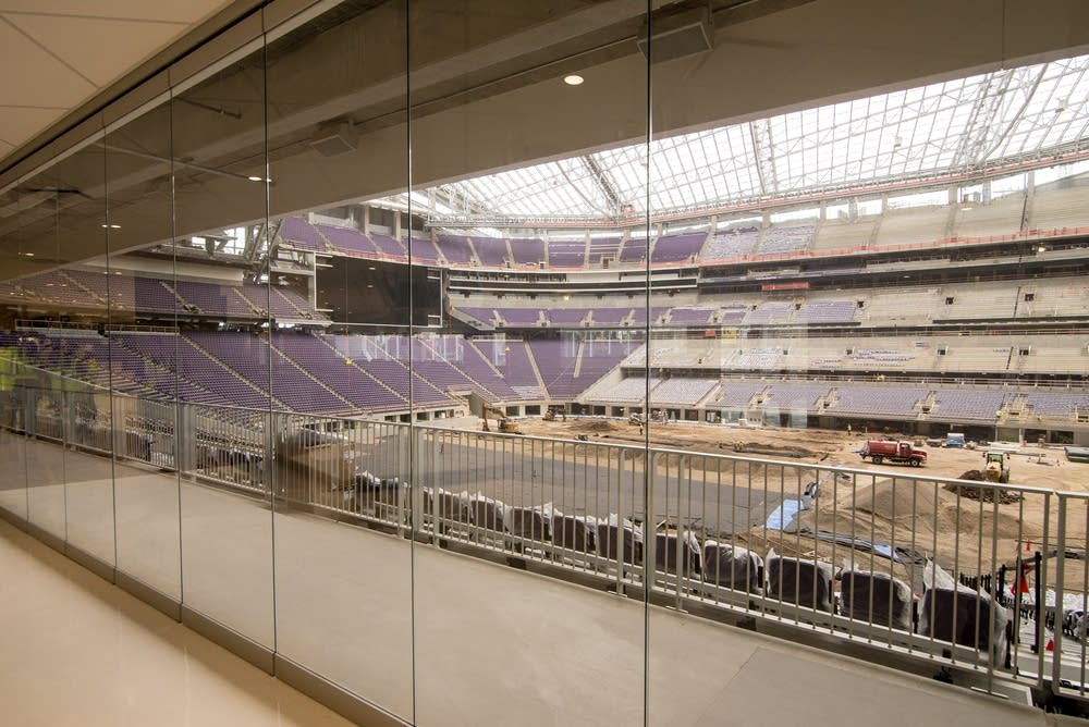 There's retractable glass in the Hyundai Club.