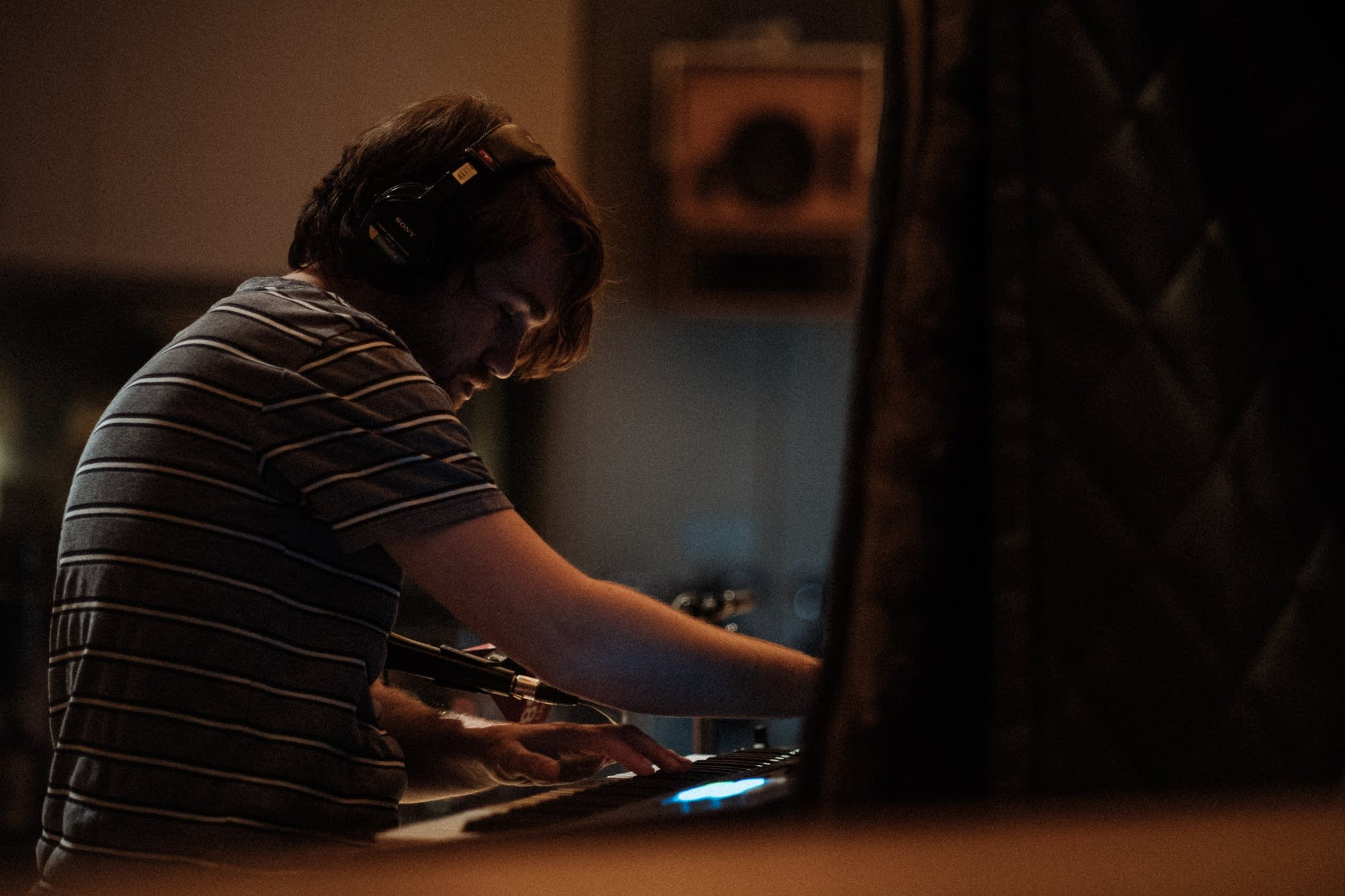 Jacob Ungerleider plays piano for Natalie Prass at The Current