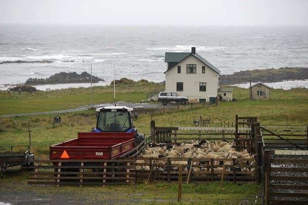 The Illugastadir farm, where a chilling double murder took place