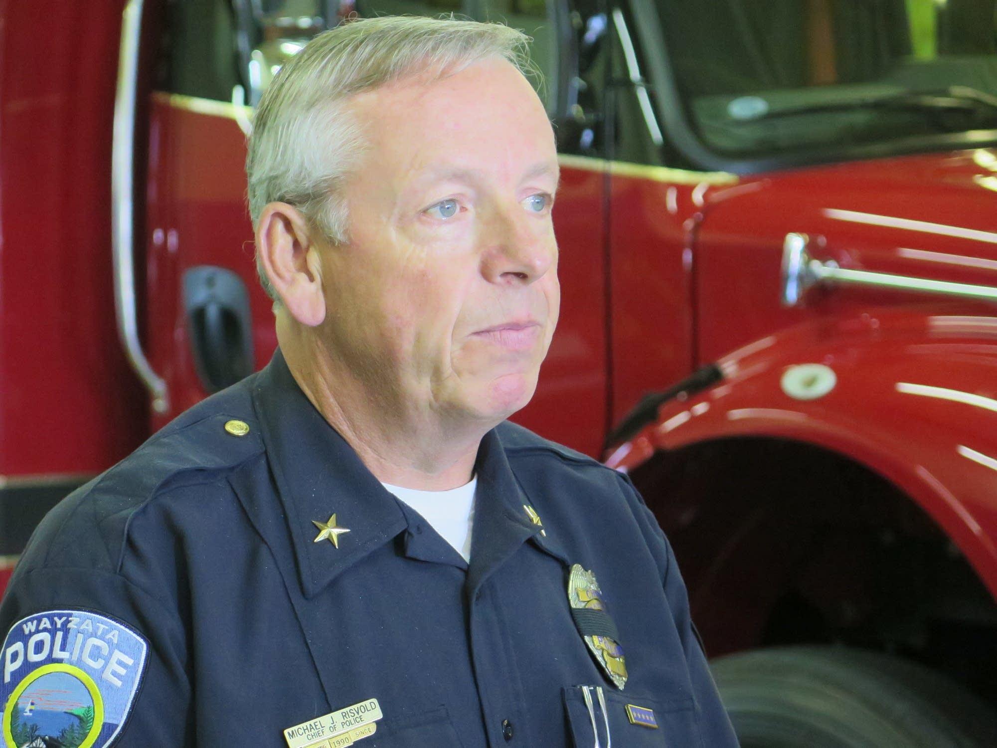 Wayzata Police Chief Michael Risvold