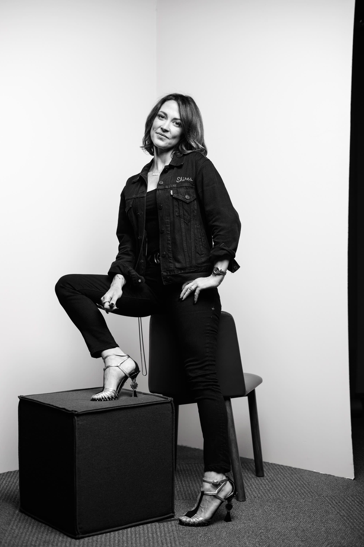 Amanda Shires portrait at The Current
