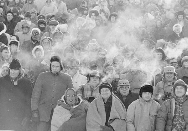 Ice Bowl spectators