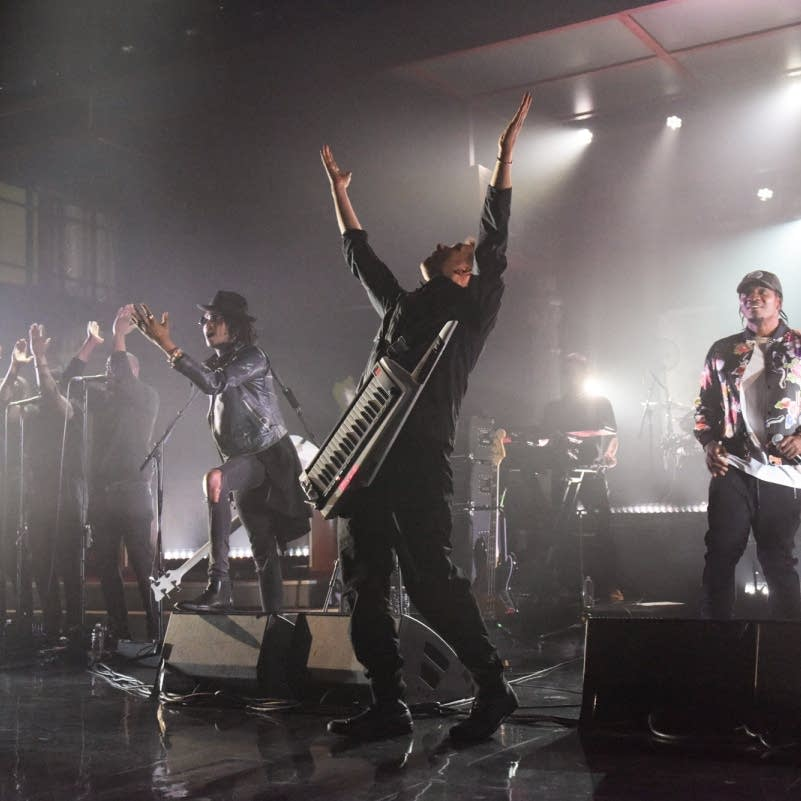 Gorillaz on the Late Show with Stephen Colbert