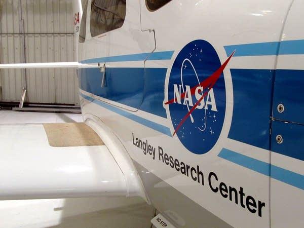 NASA research aircraft