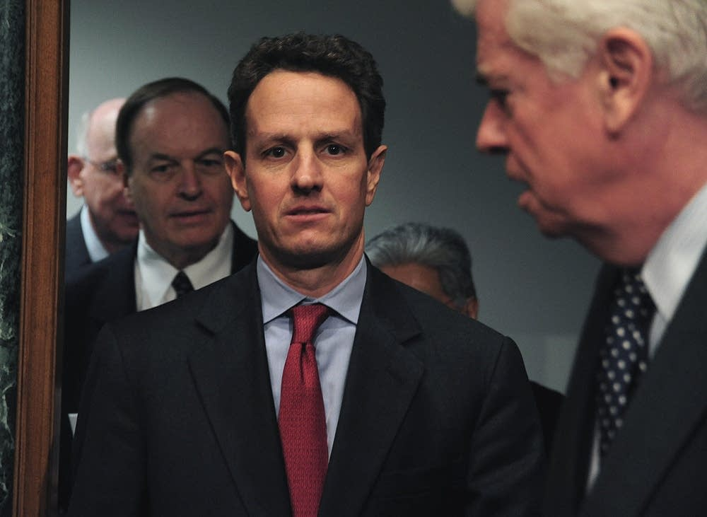 Treasury Secretary Tim Geithner