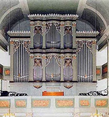 1911 Walcker organ at Saint Jacob's Church in Ilmenau, Germany