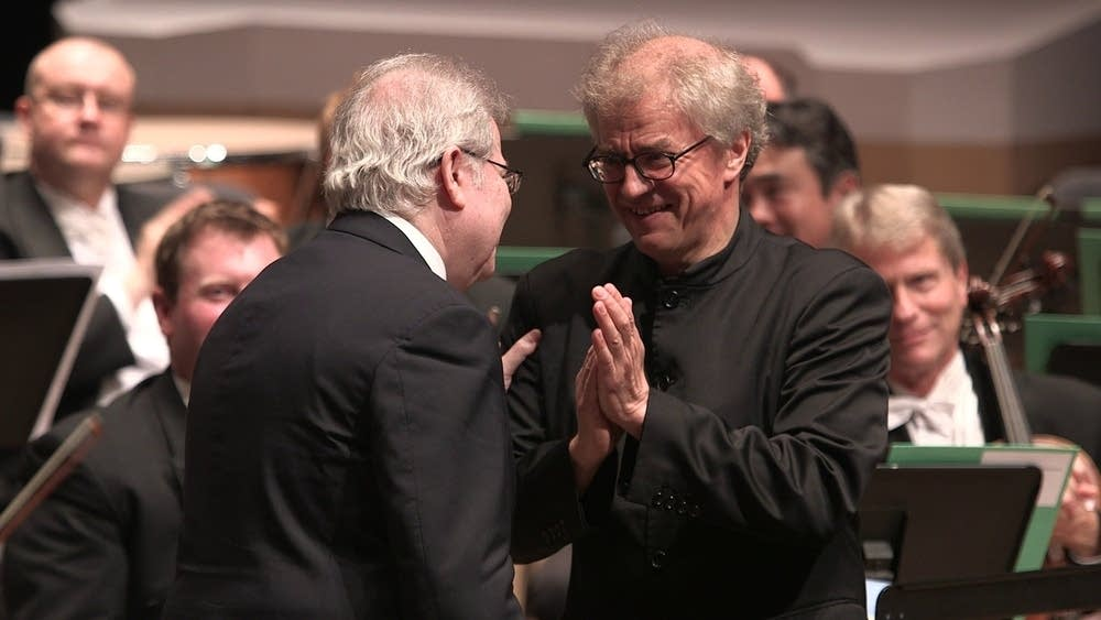 Emanuel Ax and Osmo Vanska
