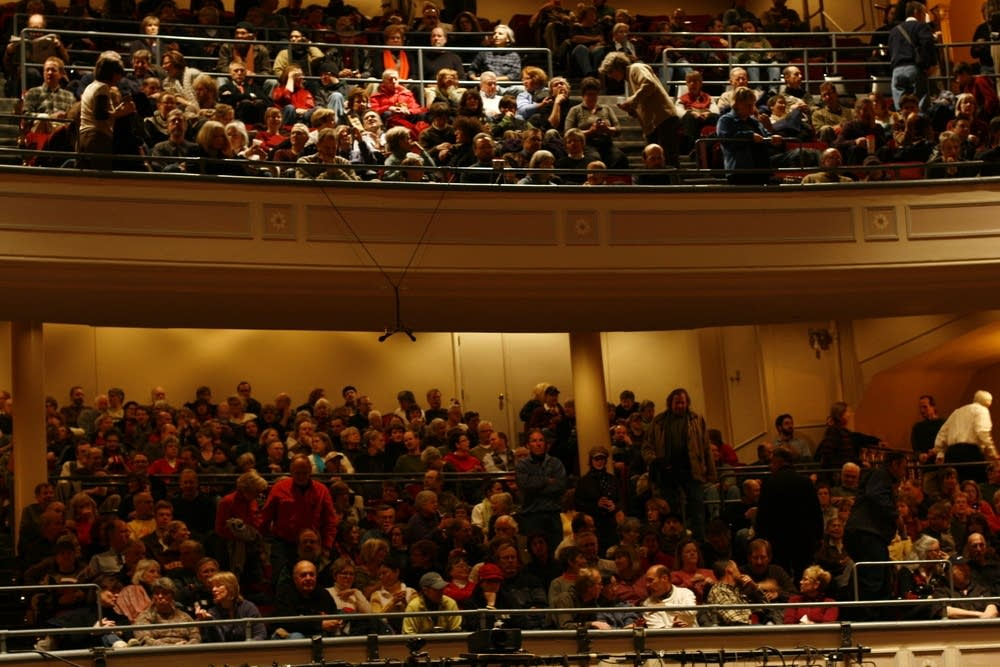fitzgerald theater audience