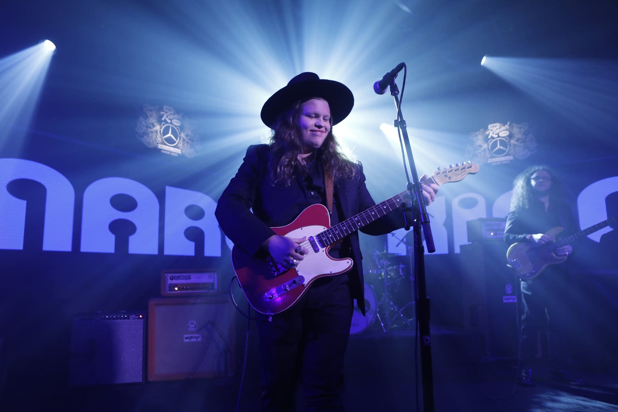 Marcus King performs on 'Jimmy Kimmel Live!' on ABC