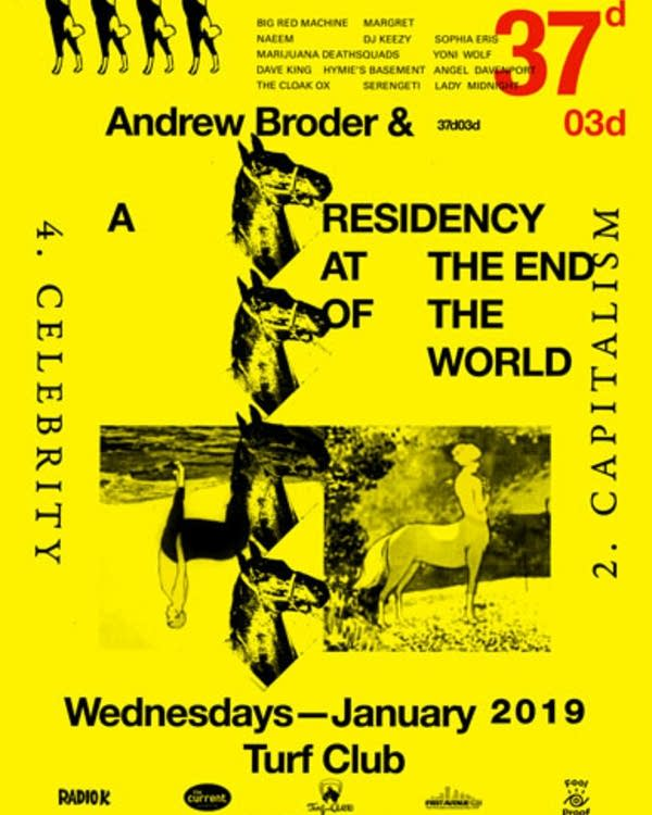 Andrew Broder January 2019 Residency