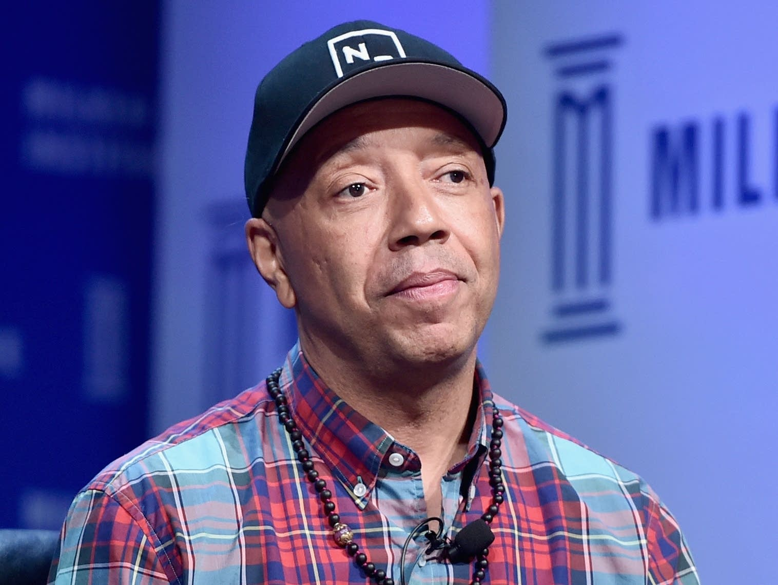 Russell Simmons at a conference in 2016.