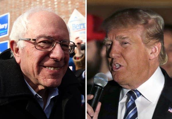 Bernie Sanders, Donald Trump win N.H. primaries.