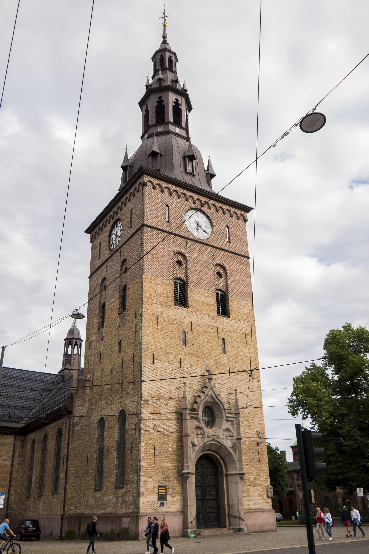 Oslo - 42 - church steeple