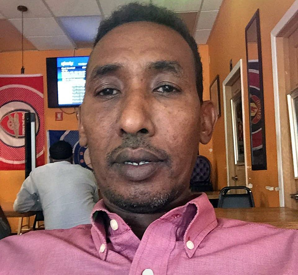 Maxamed Adan fled civil war in his home country of Somalia in 1998.