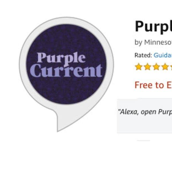Purple Current Alexa skill