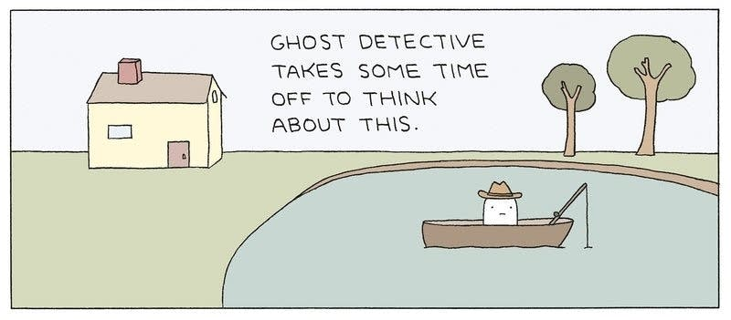 """Ghost Detective"""