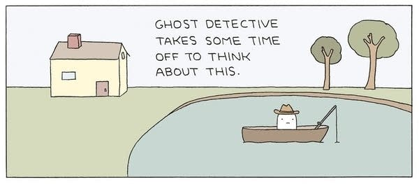 """""""Ghost Detective"""""""