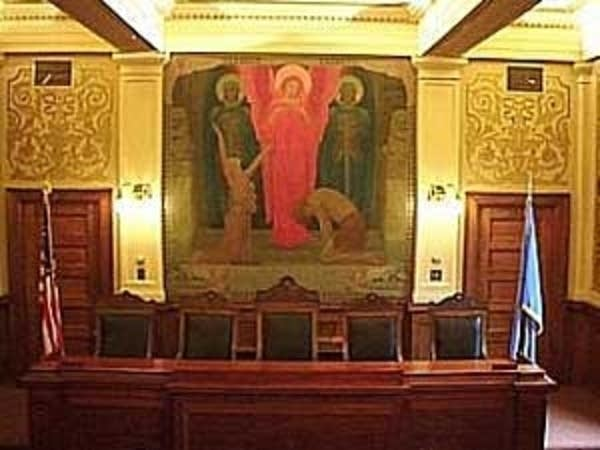 South Dakota Supreme Court chambers
