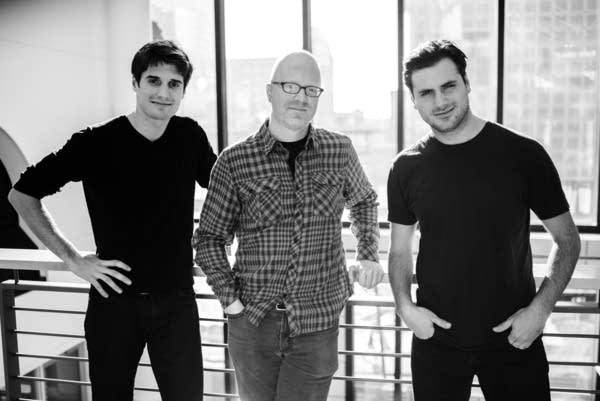 Fred Child, Luka Sulic, and Stjepan Hauser