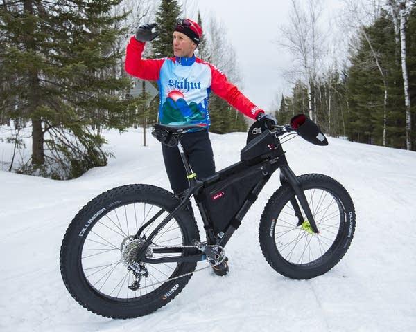Fat biking in Duluth