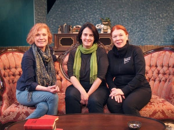 Prime Productions founders Alison Edwards, Elena Giannetti, Shelli Place